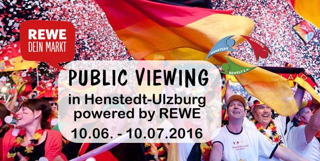 hu public viewing von henstedt ulzburg bewegt e v citycenter ulzburg. Black Bedroom Furniture Sets. Home Design Ideas